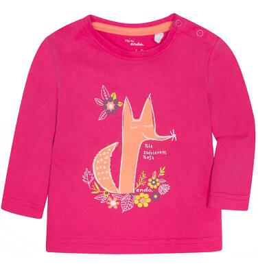 Endo - Lekko rozszerzana bluzka dla dziecka 6-36 m N72G026_1