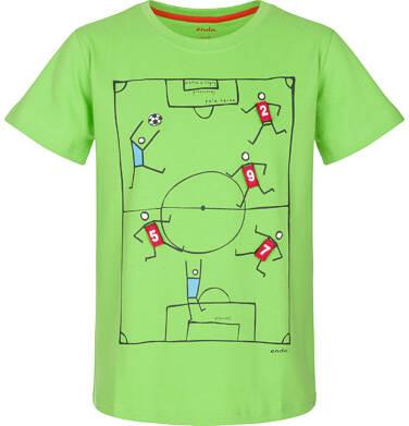 T-shirt z krótkim rękawem dla chłopca 9-13 lat C91G614_1