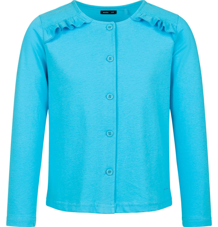 Endo - Rozpinana bluza dla dziewczynki, niebieska, 9-13 lat D03C516_4