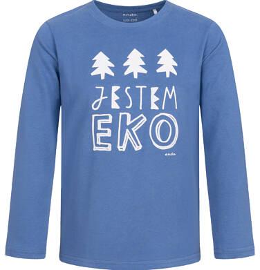 Endo - T-shirt z długim rękawem dla chłopca, niebieski, 2-8 lat C04G107_1,1