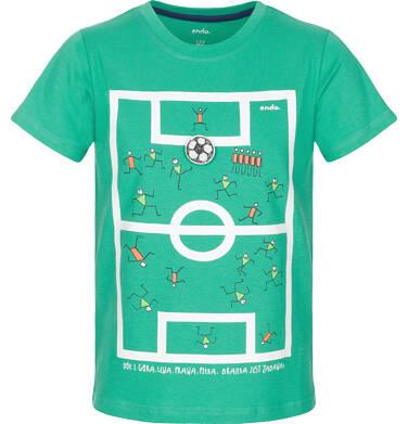 Endo - T-shirt z krótkim rękawem dla chłopca 9-13 lat C91G615_1