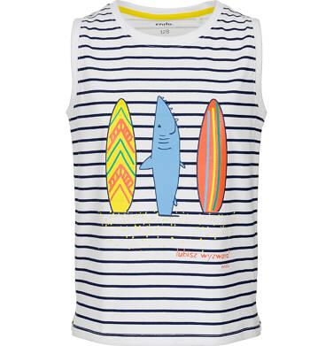Endo - T-shirt z krótkim rękawem dla chłopca 3-8 lat C91G111_1