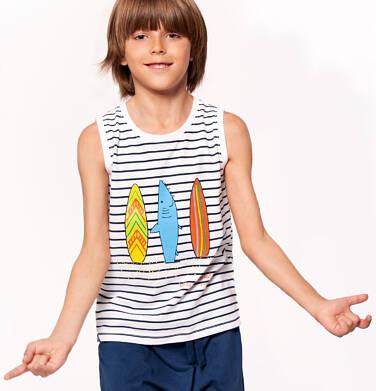 T-shirt z krótkim rękawem dla chłopca 3-8 lat C91G111_1