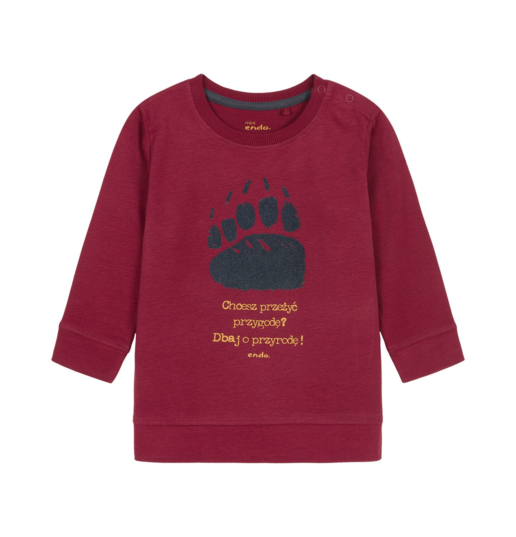 Endo - T-shirt z długim rękawem dla dziecka 0-3 lata N92G059_2
