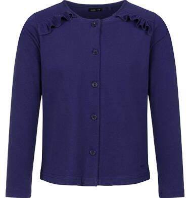 Rozpinana bluza dla dziewczynki, granatowa, 2-8 lat D03C016_5