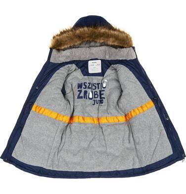 Endo - Płaszcz zimowy dla chłopca 3-8 lat C82A006_1