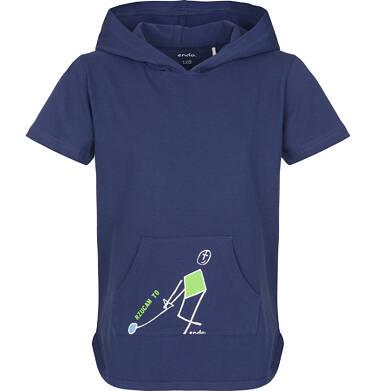 Endo - T-shirt z krótkim rękawem dla chłopca 9-13 lat C91G617_1