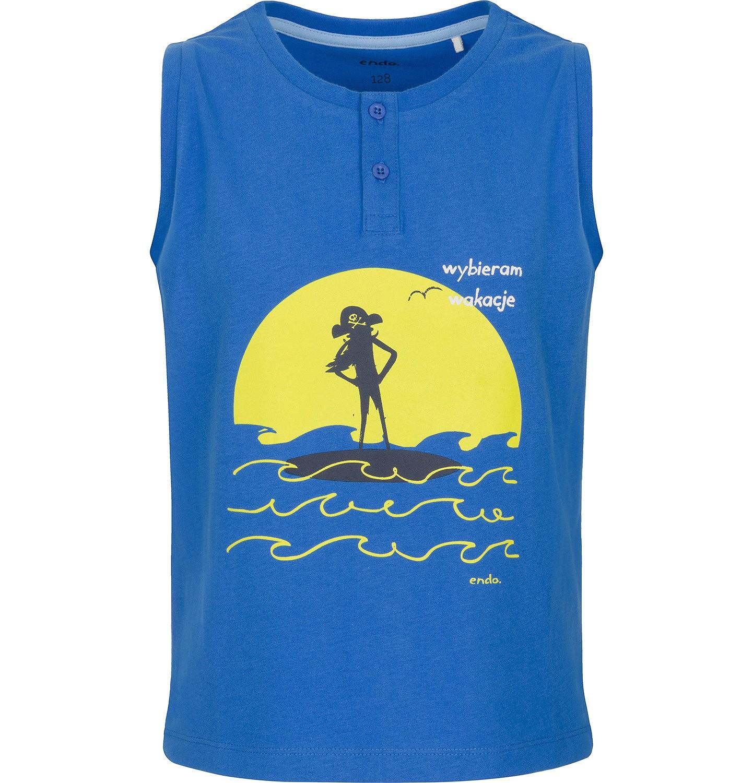 Endo - T-shirt z krótkim rękawem dla chłopca 3-8 lat C91G112_1