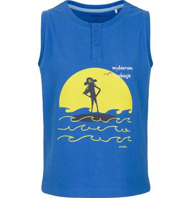 T-shirt z krótkim rękawem dla chłopca 3-8 lat C91G112_1