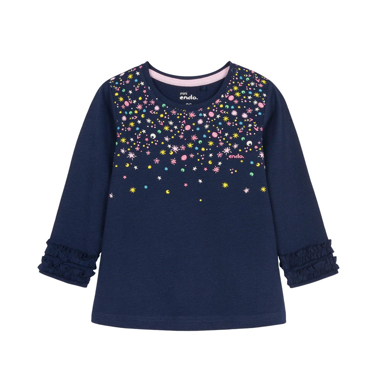 Endo - Bluzka z długim rękawem dla dziecka 0-3 lata N92G083_2