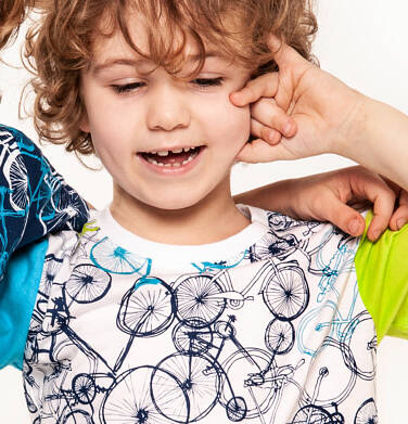 Endo - T-shirt z krótkim rękawem dla chłopca 9-13 lat C91G623_1