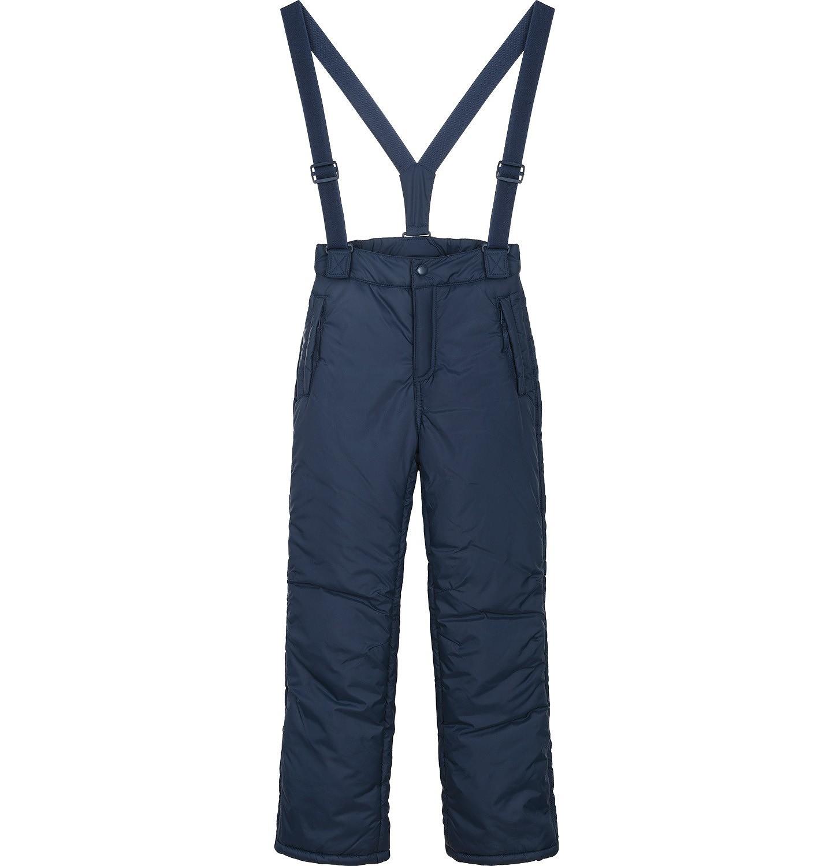 Endo - Spodnie ocieplane na szelkach dla dziewczynki 3-8 lat D82K001_1