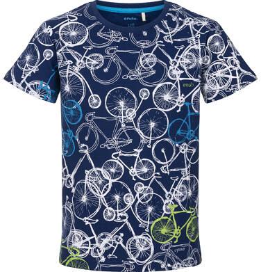 T-shirt z krótkim rękawem dla chłopca 9-13 lat C91G624_1