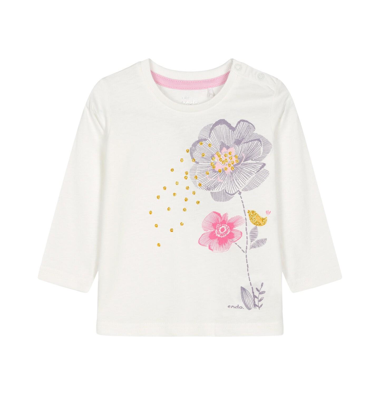 Endo - Bluzka z długim rękawem dla dziecka 0-3 lata N92G109_1