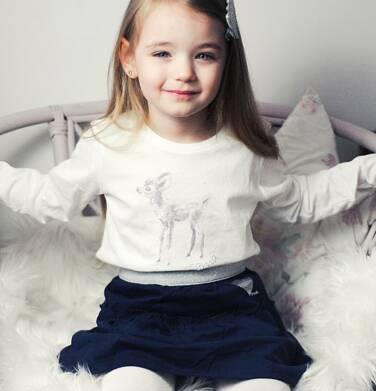 Endo - Bluzka z długim rękawem dla dziewczynki, z sarenką, 2-8 lat D04G003_1 29