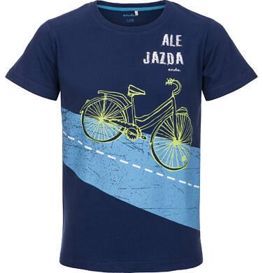 Endo - T-shirt z krótkim rękawem dla chłopca 9-13 lat C91G625_1