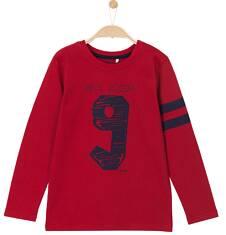 T-shirt z długim rękawem dla chłopca 3-8 lat C62G116_1
