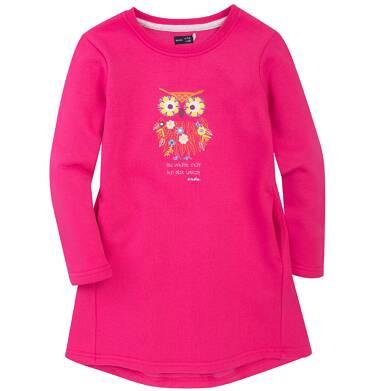 Endo - Ciepła sukienka dla dziewczynki 3-8 lat D72H022_1