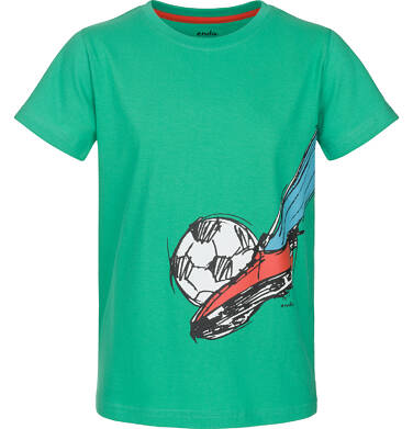 T-shirt z krótkim rękawem dla chłopca 9-13 lat C91G626_1