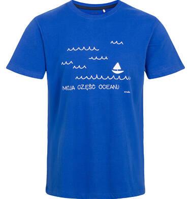 Endo - T-shirt męski, z morskim motywem Q03G007_1 26