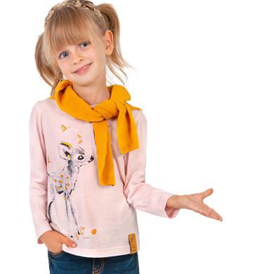 Endo - Bluzka z długim rękawem dla dziewczynki, z sarenką, 2-8 lat D04G021_1 5