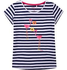 Bluzka z krótkim rękawem dla dziewczynki 9-13 lat D71G659_1