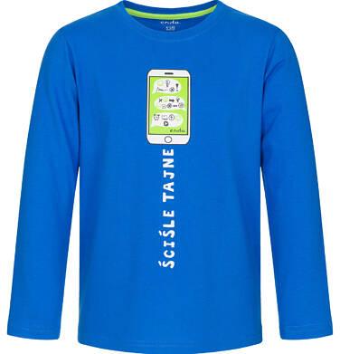 Endo - T-shirt z długim rękawem dla chłopca 9-13 lat C92G611_1