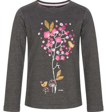 Endo - Bluzka z długim rękawem dla dziewczynki 3-8 lat D92G114_2