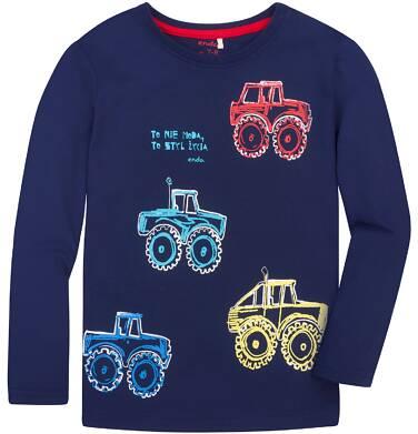 Endo - T-shirt z długim rękawem dla chłopca 9-13 lat C72G524_1