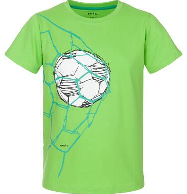 Endo - T-shirt z krótkim rękawem dla chłopca 9-13 lat C91G627_1
