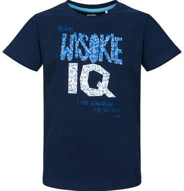 Endo - T-shirt z krótkim rękawem dla chłopca 9-13 lat C91G660_1