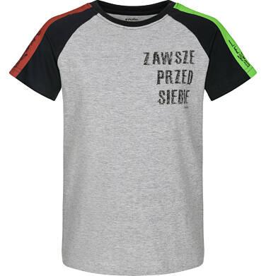 Endo - T-shirt z krótkim rękawem dla chłopca 9-13 lat C91G628_1