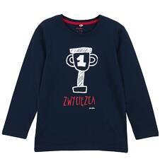 T-shirt z długim rękawem dla chłopca 3-8 lat C62G129_2
