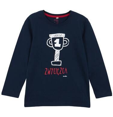 Endo - T-shirt z długim rękawem dla chłopca 3-8 lat C62G129_2