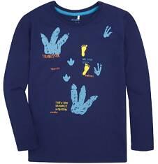 T-shirt z długim rękawem dla chłopca 9-13 lat C72G616_1