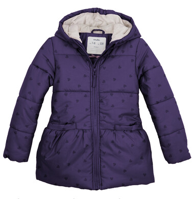 Kurtka zimowa dla dziewczynki 3-8 lat D82A005_1
