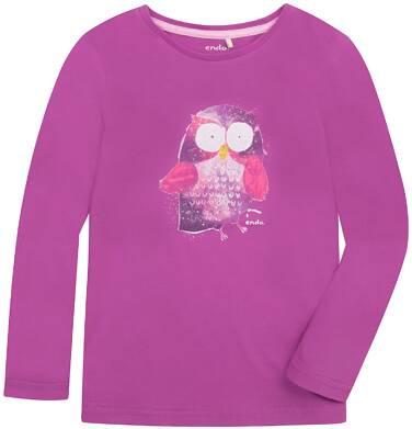 Endo - Bluzka z długim rękawem  dla dziewczynki 3-8 lat D72G013_2