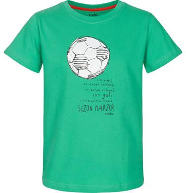 Endo - T-shirt z krótkim rękawem dla chłopca 9-13 lat C91G630_2