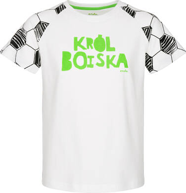 T-shirt z krótkim rękawem dla chłopca 9-13 lat C91G632_1