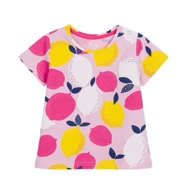 Endo - Bluzka dla dziecka do 2 lat, deseń w cytryny N03G063_1 15