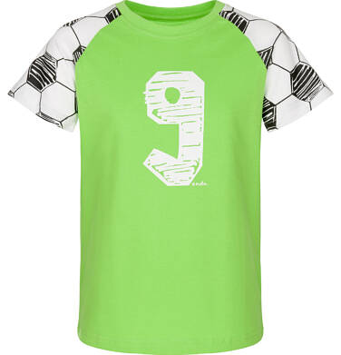 Endo - T-shirt z krótkim rękawem dla chłopca 9-13 lat C91G633_1