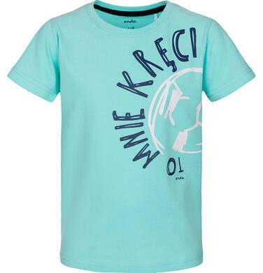 T-shirt z krótkim rękawem dla chłopca 3-8 lat C91G165_1