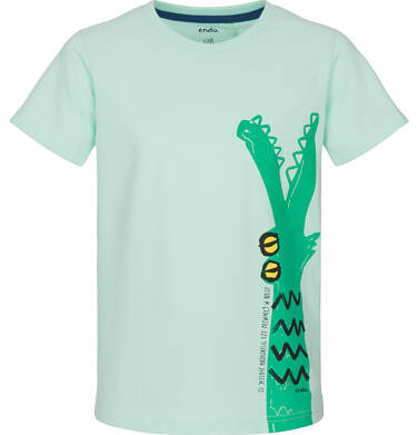 Endo - T-shirt z krótkim rękawem dla chłopca 9-13 lat C91G635_1