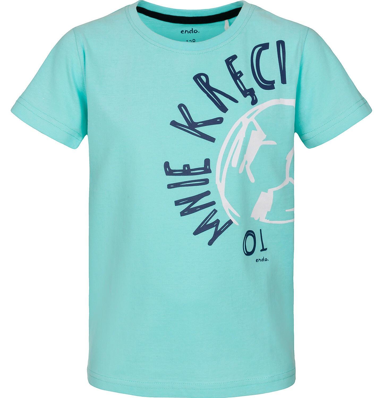 Endo - T-shirt z krótkim rękawem dla chłopca 9-13 lat C91G665_1
