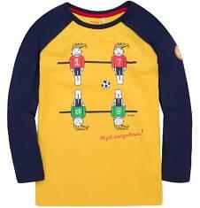 Endo - Koszulka z długim reglanowym rękawem dla chłopca 9-13 lat C72G512_2