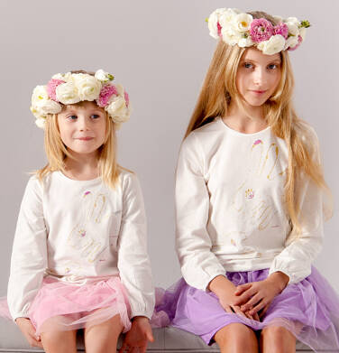 Endo - Bufiasta bluzka dla dziewczynki 9-13 lat D72G519_1