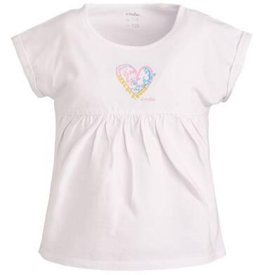 Endo - Bluzka z krótkim rękawem dla dziewczynki 9-13 lat D81G570_1