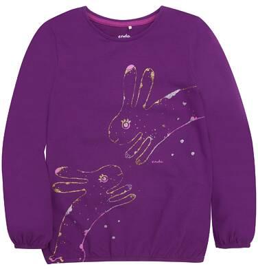Endo - Bufiasta bluzka dla dziewczynki 3-8 lat D72G019_2