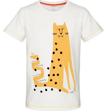 Endo - T-shirt z krótkim rękawem dla chłopca 9-13 lat C91G637_2
