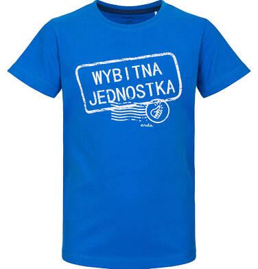 Endo - T-shirt z krótkim rękawem dla chłopca 9-13 lat C91G666_1
